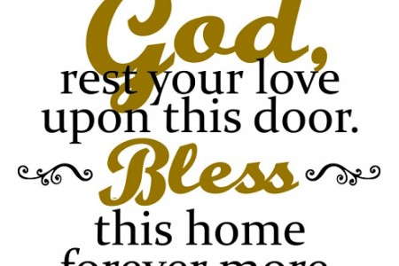 Blessings In Your Home