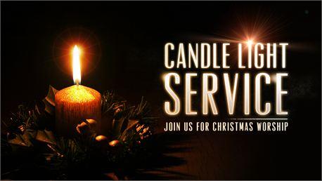 Wednesday 12/21 Candlelight Service